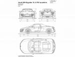 Audi R8 Spyder 5.2 FSI/ фото