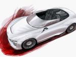 Первые эскизы Audi E-Tron Spyder