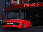 "R8 Spyder с новыми дисками от ""Sport Wheels"""