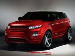 Агрессивный Range Rover Evoque от Merdad
