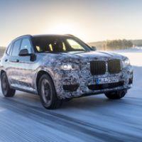 Новый 2018 BMW X3 прошел тестирование в Швеции