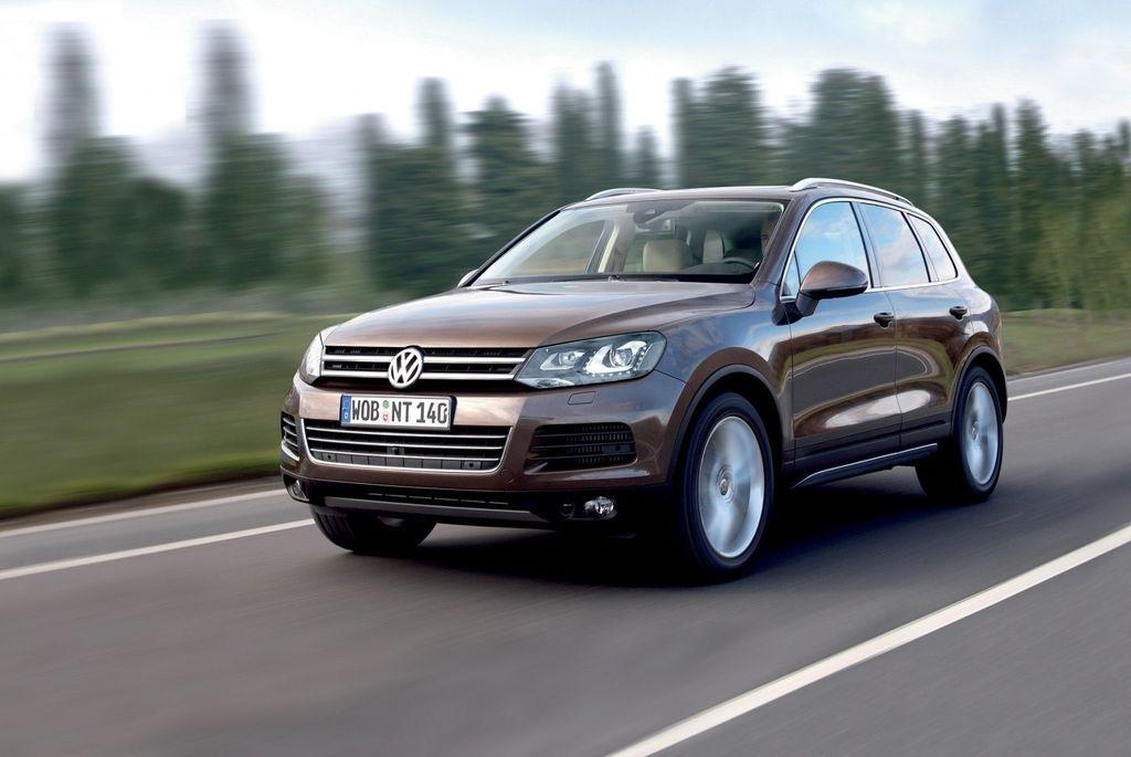 Volkswagen Touareg  2011 от ABT