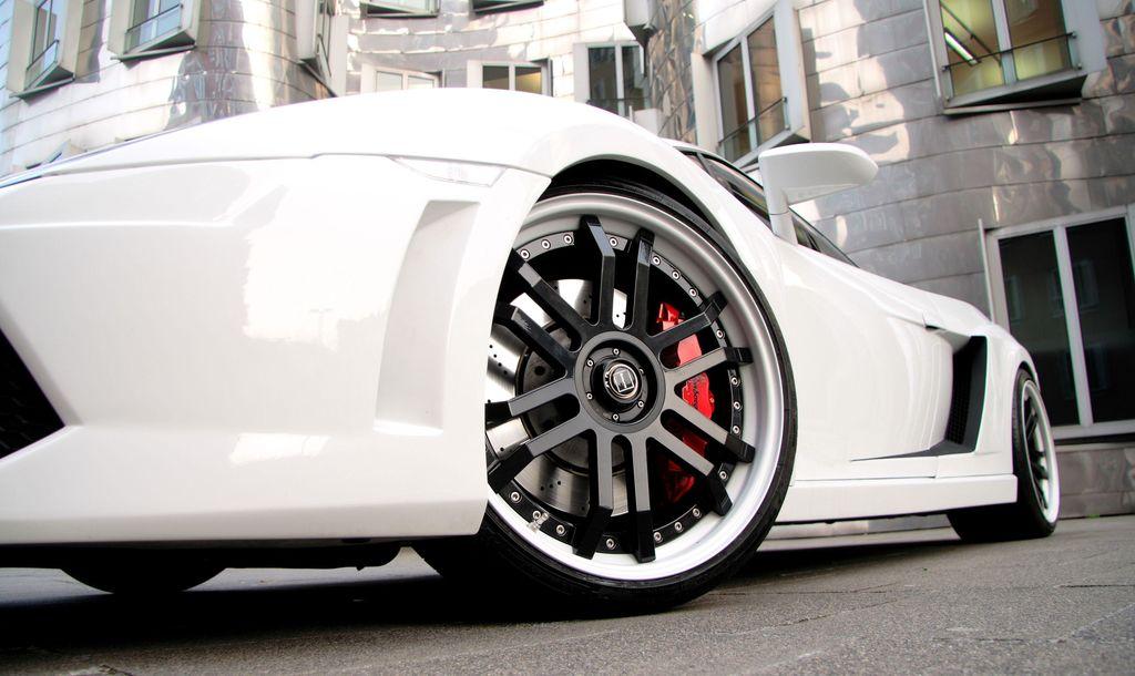 Anderson Lamborghini Gallardo White Edition