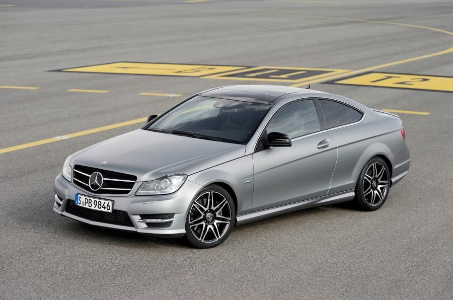 Mercedes C Class Coupe 2012
