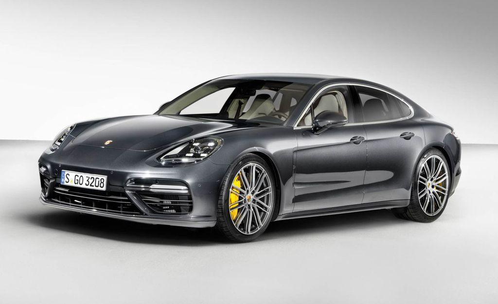 Porsche модернизирует хэтчбек Panamera, 2013