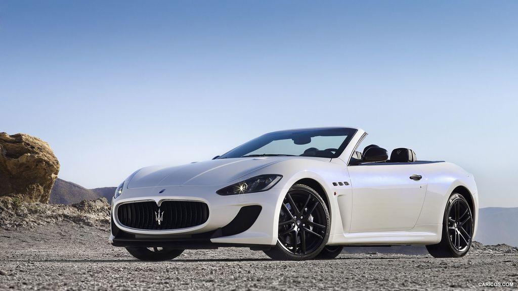 Maserati GranCabrio MC 2013, фото