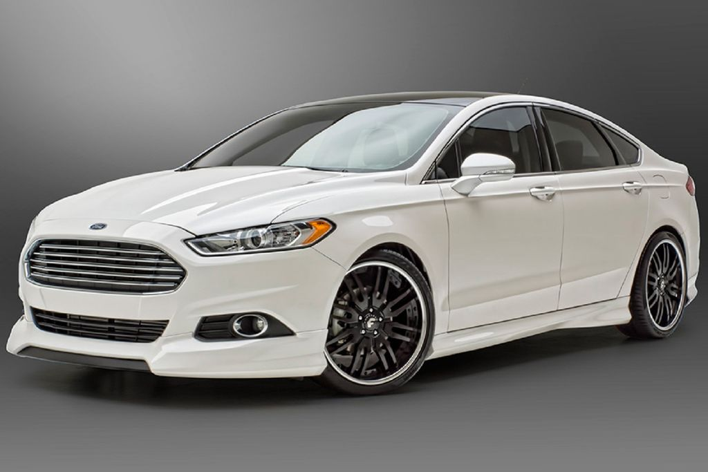 Ford Fusion 3D Carbon bodykit