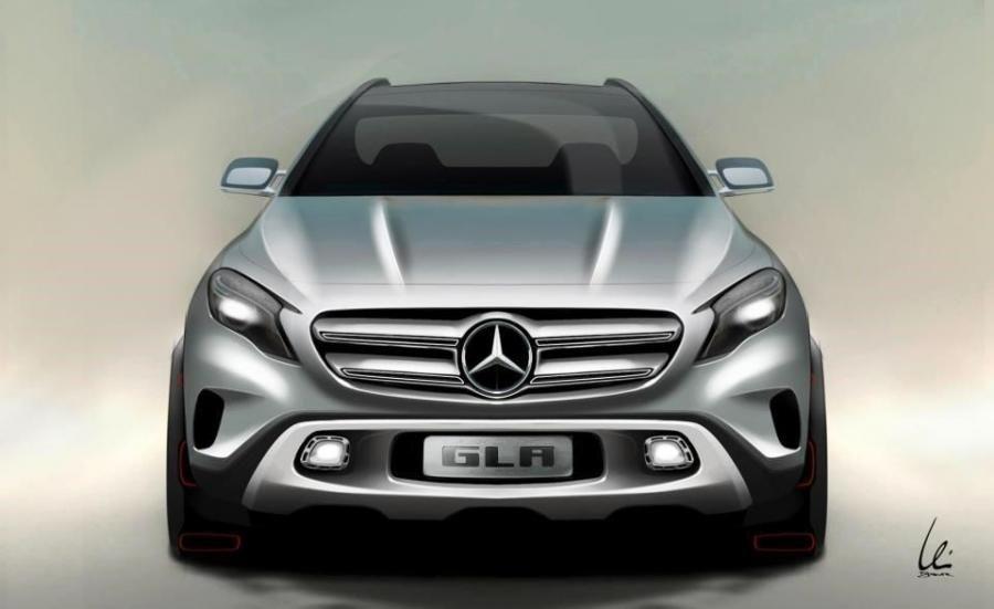 Mercedes-Benz GLA Edition 1 2014 (2)