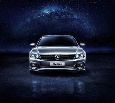 Представлен новый Volkswagen Phideon 2017 в Китае